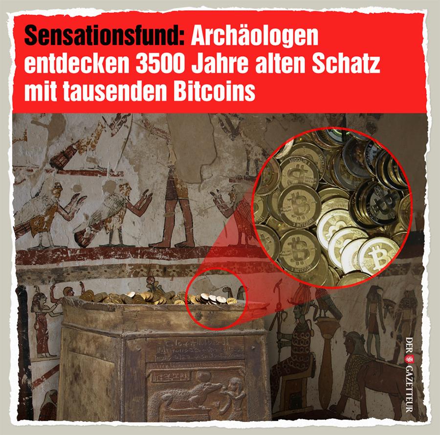 Antiker Bitcoin-Fund - Der Gazetteur
