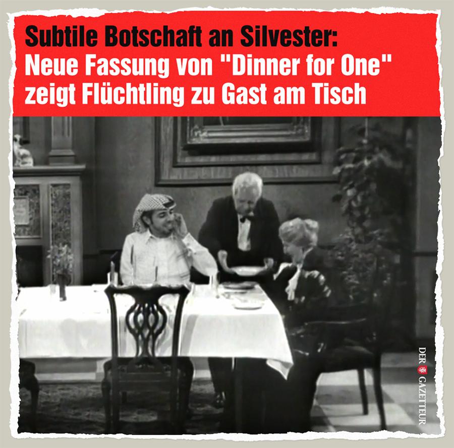 Dinner for All - Der Gazetteur