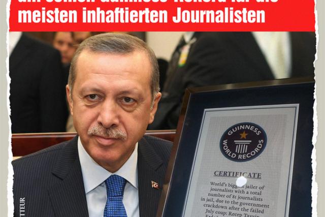 Erdogans Rekord in Gefahr - Der Gazetteur