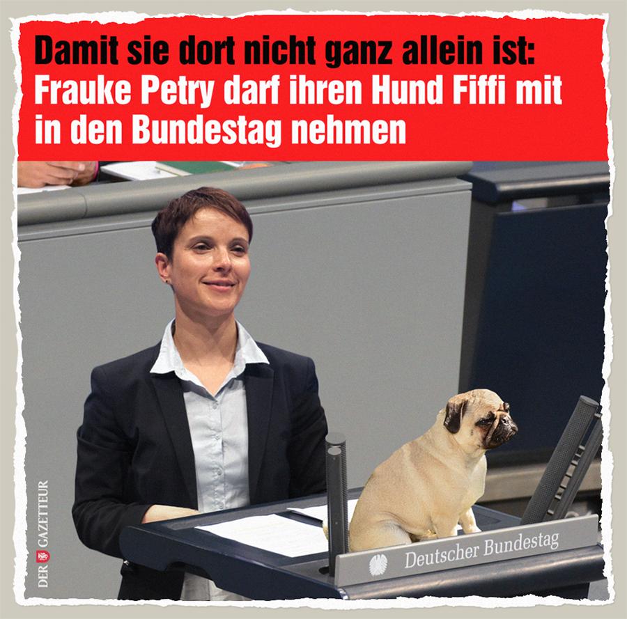 Frauke und Fiffi - Der Gazetteur