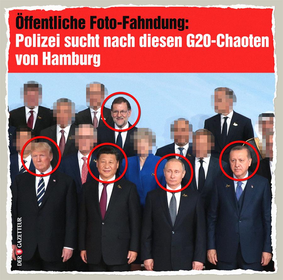 G20-Fahndung - Der Gazetteur