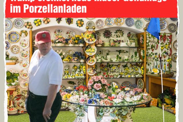 Golf im Porzellanladen - Der Gazetteur