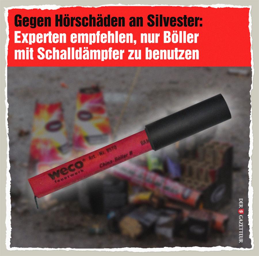 Silvester-Schalldämpfer - Der Gazetteur