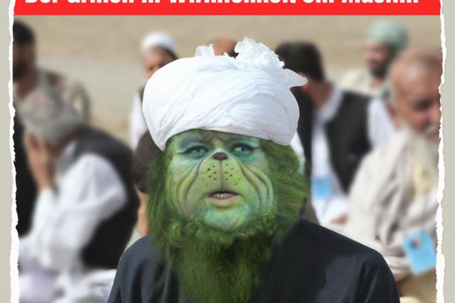Muslimischer Grinch - Der Gazetteur