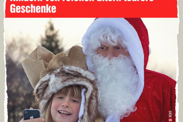 Neoliberaler Weihnachtsmann - Der Gazetteur