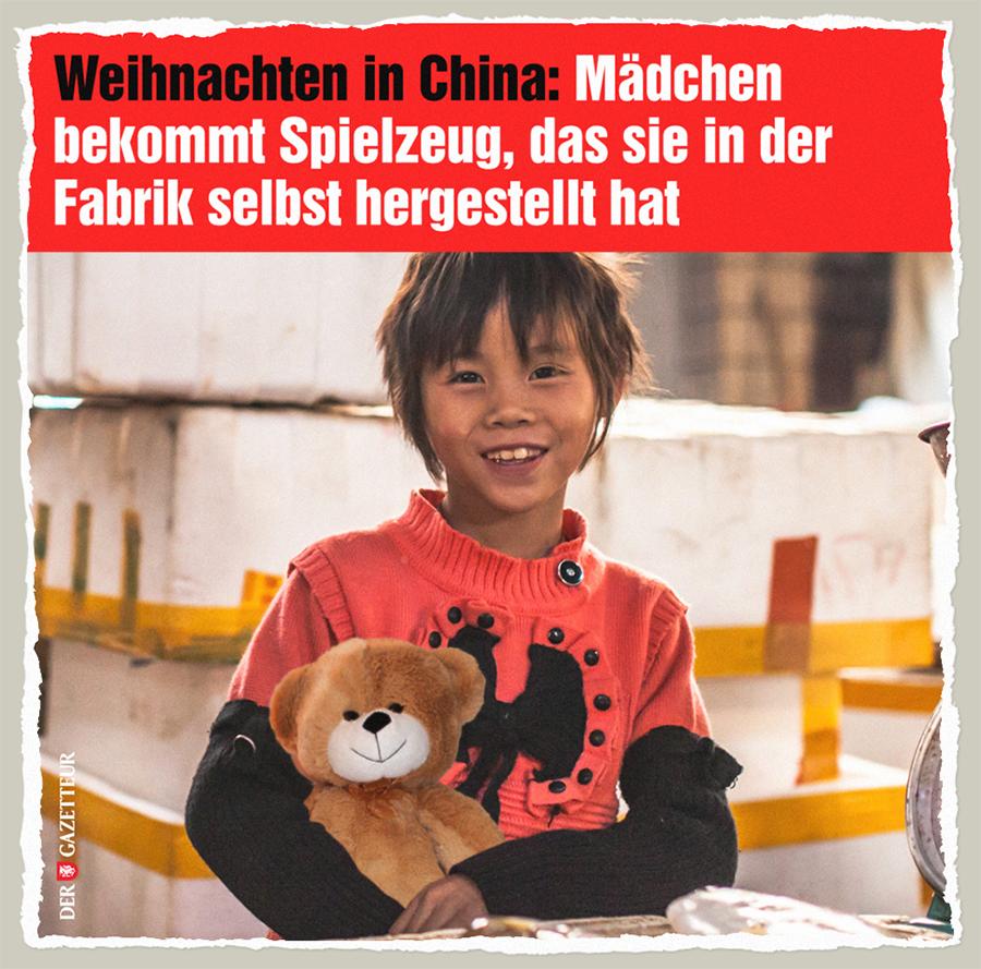 Weihnachten in China - Der Gazetteur