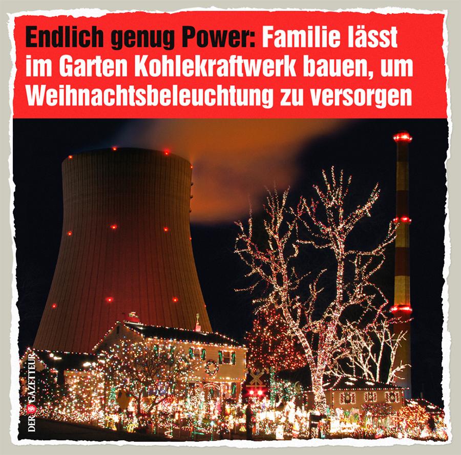 Weihnachtskraftwerk - Der Gazetteur