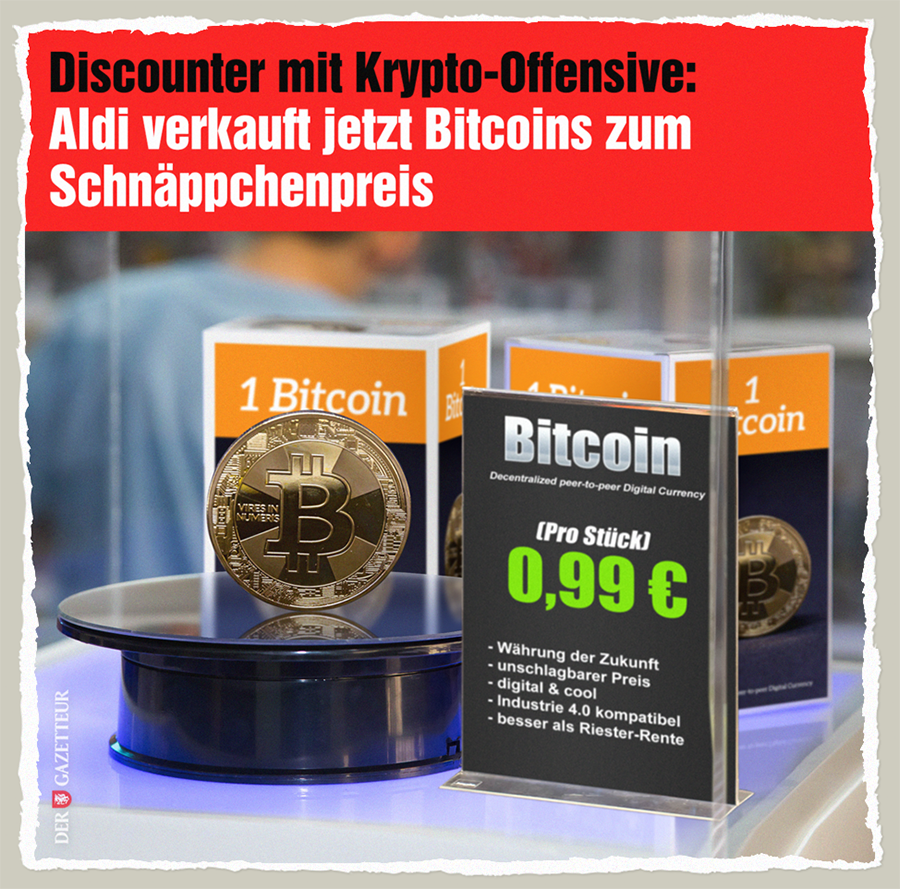 Aldi-Coin - Der Gazetteur