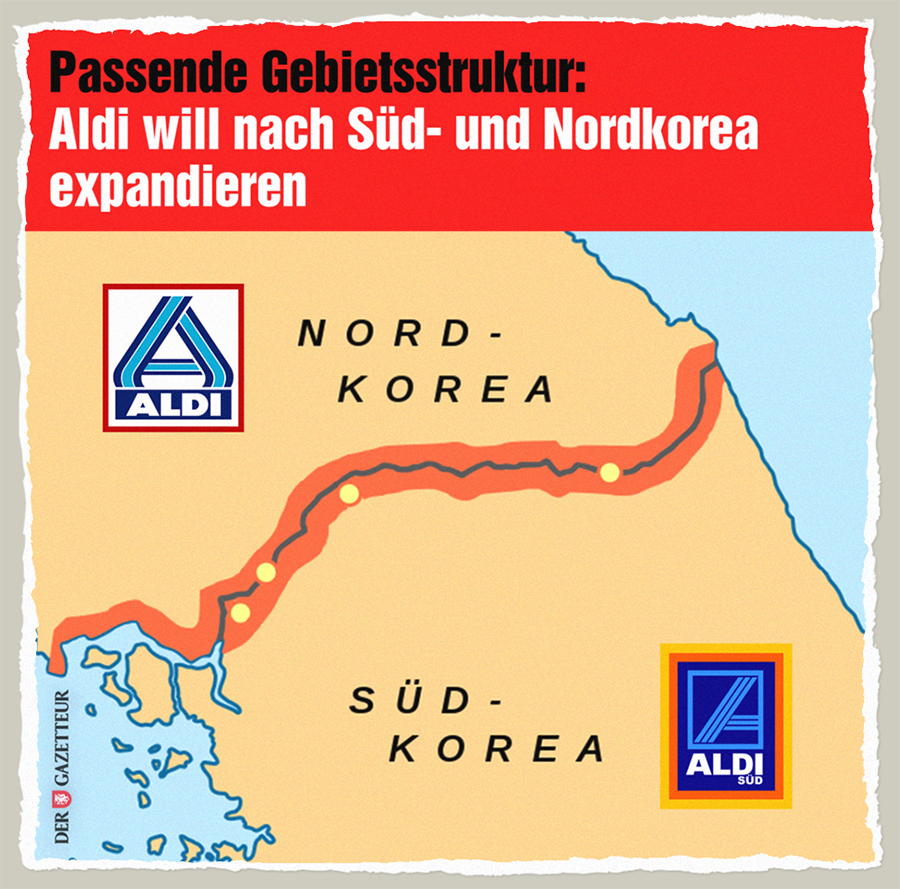 Adi in Korea - Der Gazetteur