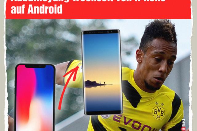 Aubameyang fix auf Android - Der Gazetteur