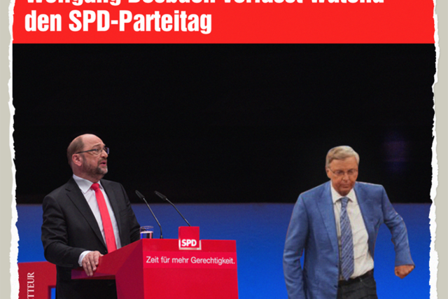 Bosbach leaving SPD - Der Gazetteur