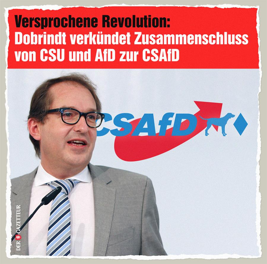 Die neue CSAfD - Der Gazetteur