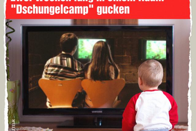 Dschungelcamp-Guck-Show - Der Gazetteur