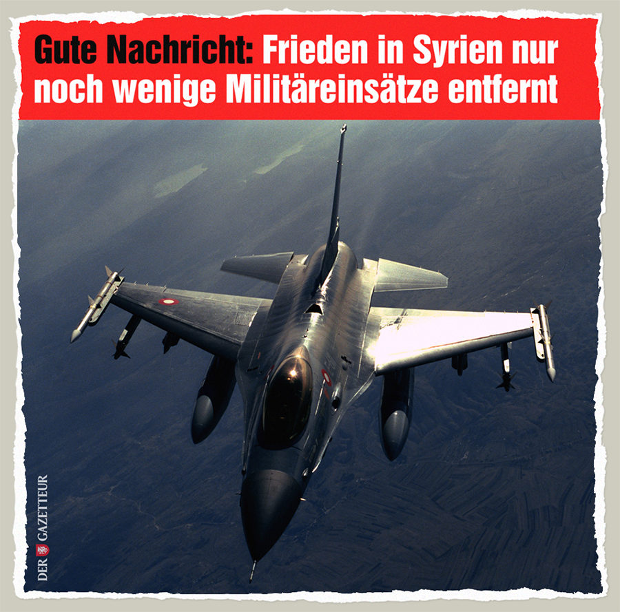Frieden in Syrien - Der Gazetteur