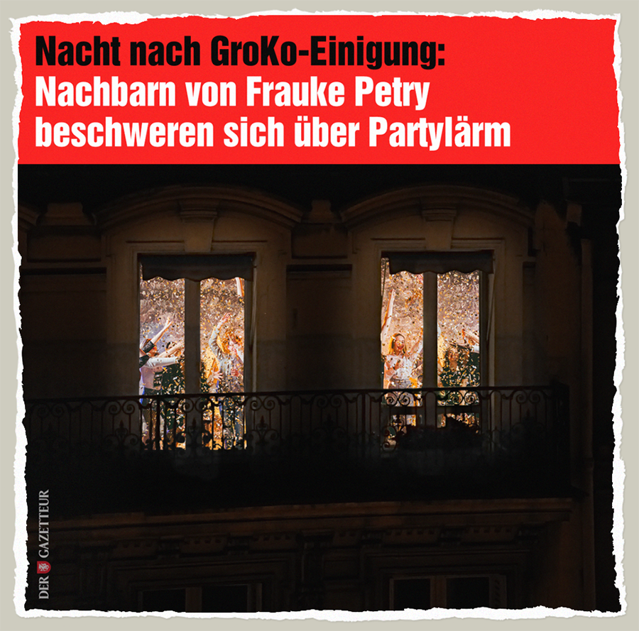 GroKo-Laerm - Der Gazetteur