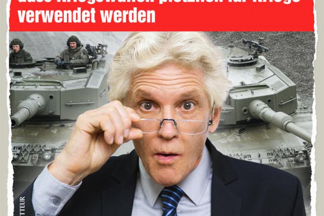 Kriegswaffen sind wirklich fuer Krieg - Der Gazetteur