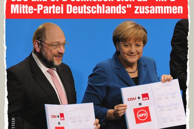 Mitte-Partei Deutschlands - Der Gazetteur