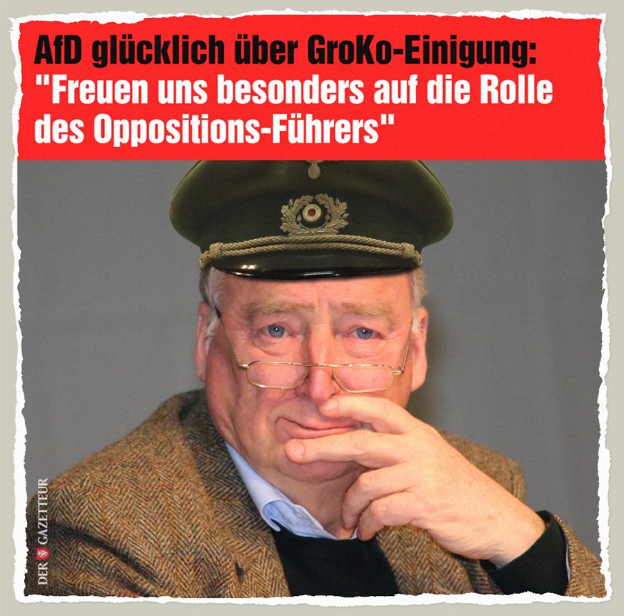 Oppositionsfuehrer Gauland - Der Gazetteur