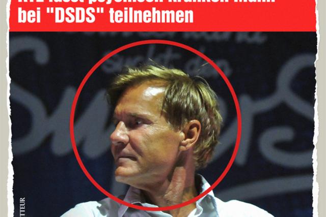 Psychisch Kranker bei DSDS - Der Gazetteur