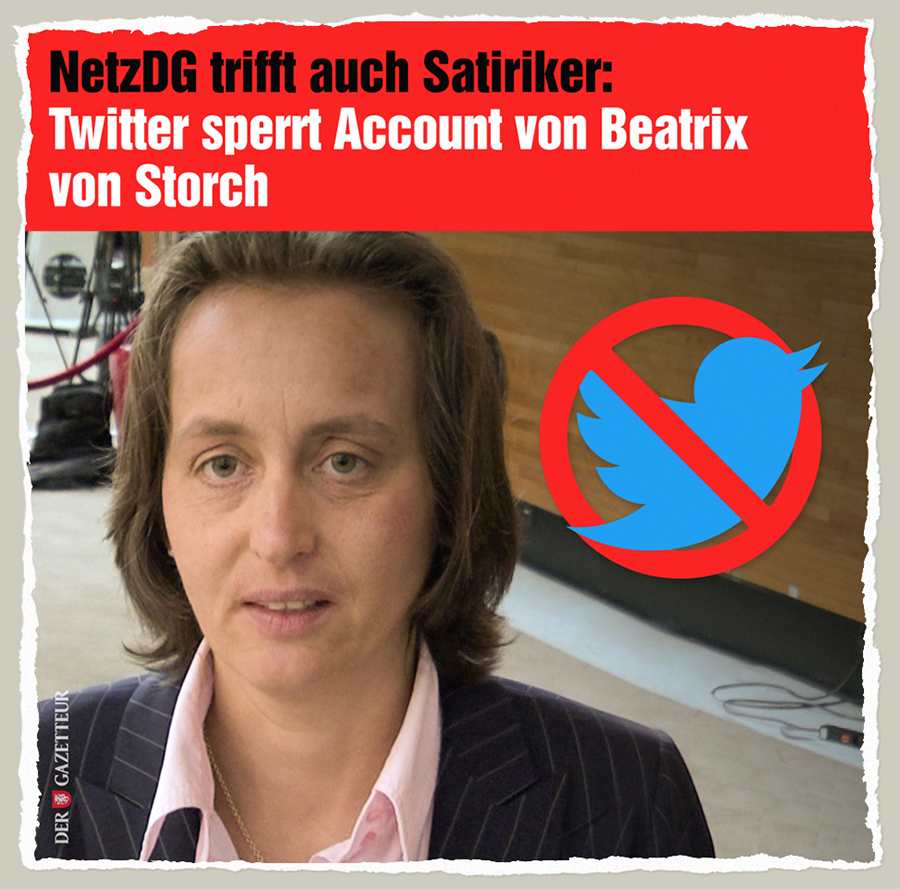 Satiriker zensiert - Der Gazetteur