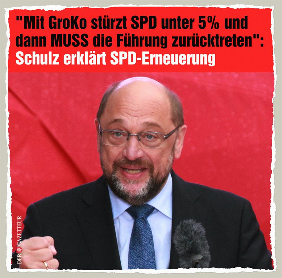 GroKo-Erneuerung - Der Gazetteur