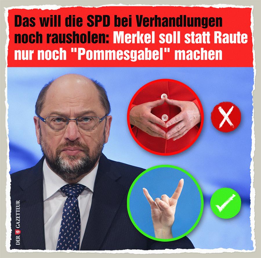 SPD verhandelt hart - Der Gazetteur