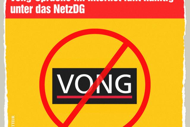 Zensur vong NetzDG - Der Gazetteur