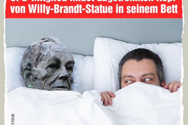 Willy Brandts Kopf - Der Gazetteur