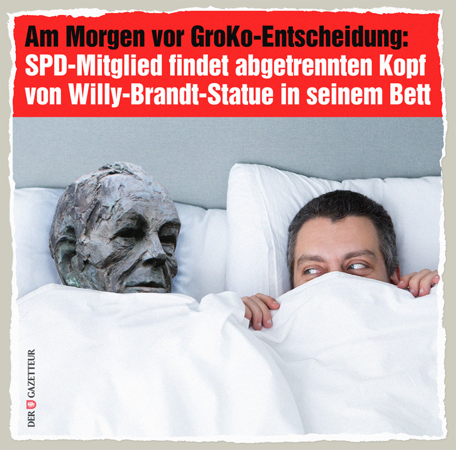 Willy Brandts Kopf - Der Gazetteur