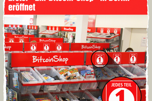 1-Bitcoin-Shop - Der Gazetteur