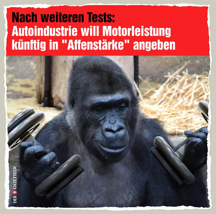 Affenstaerke - Der Gazetteur
