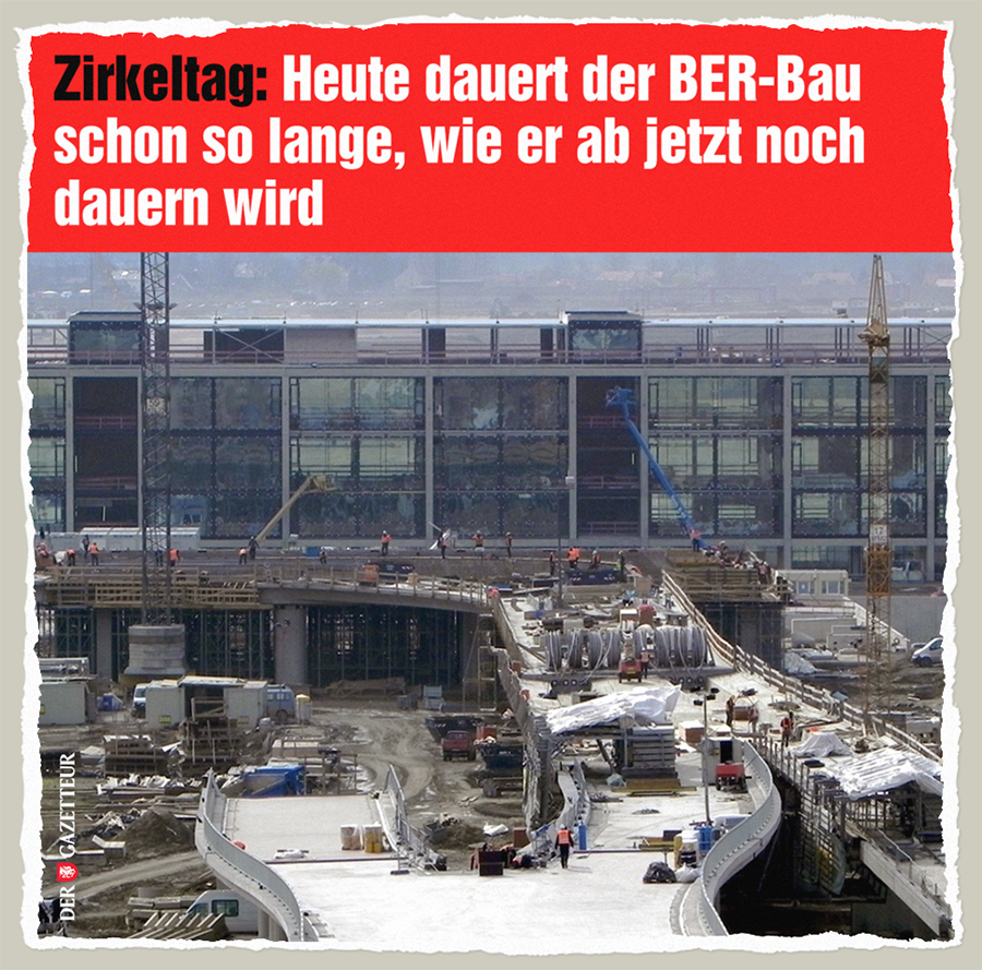 BER-Zirkeltag - Der Gazetteur