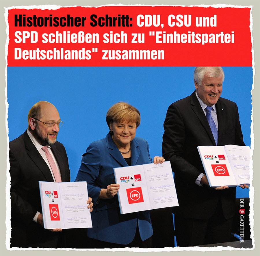 Einheitspartei Deutschlands - Der Gazetteur