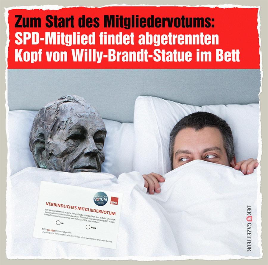 GroKo-Angebot - Der Gazetteur