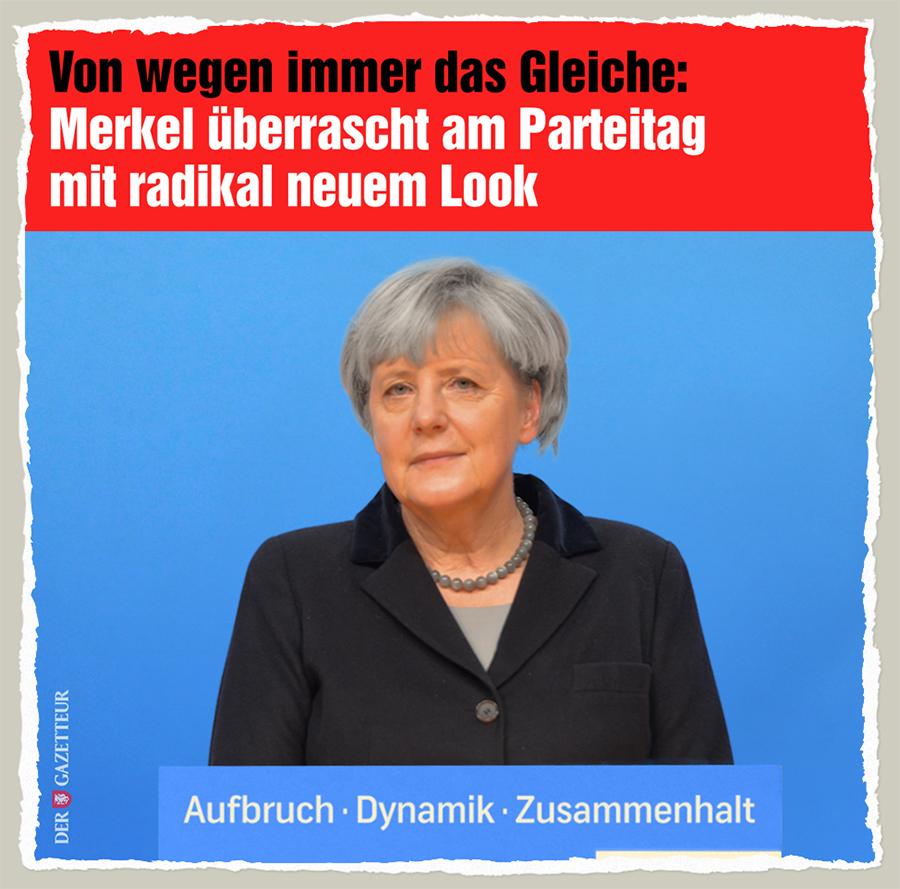 Merkel Radikal-Veraenderung - Der Gazetteur