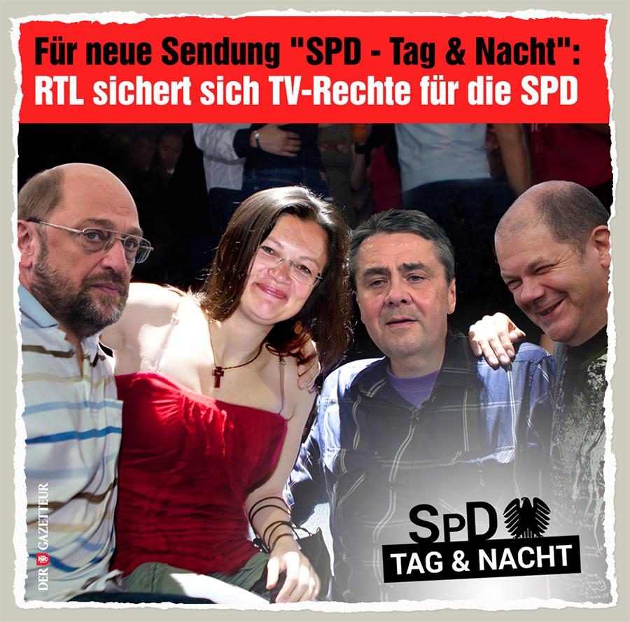 SPD - Tag und Nacht - Der Gazetteur