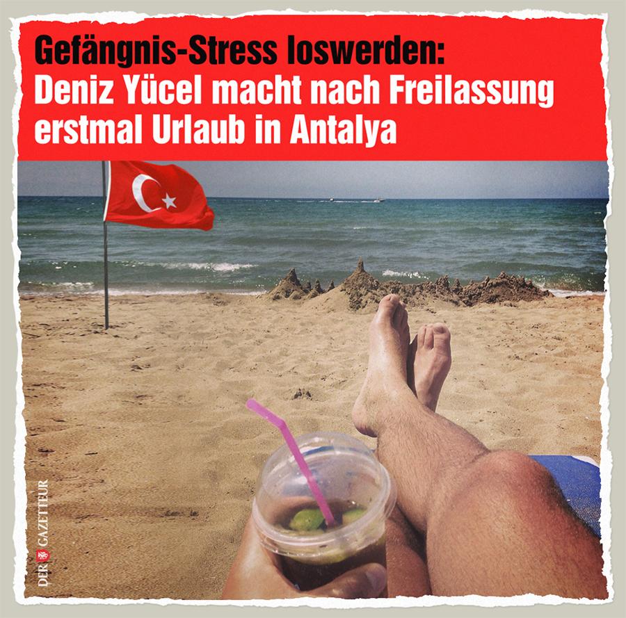 Yuecels Urlaub - Der Gazetteur