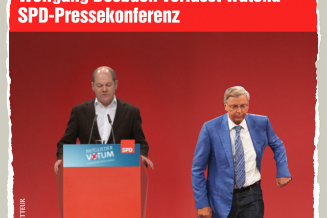 Bosbach Leaving GroKo - Der Gazetteur