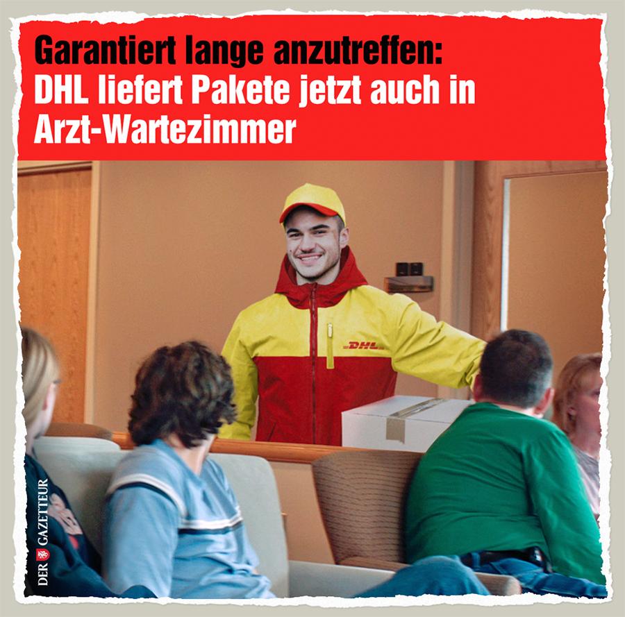 DHL-Wartezimmer - Der Gazetteur