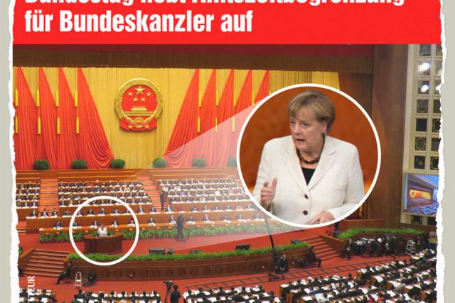 Die Leitgedanken Angela Merkels - Der Gazetteur