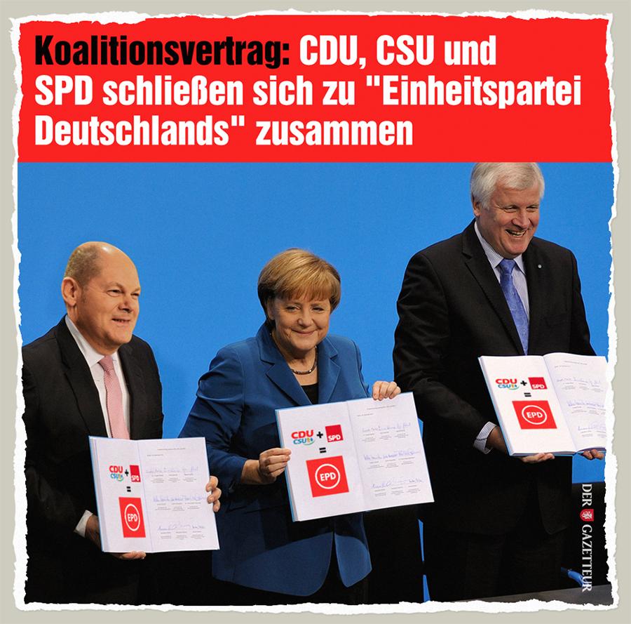 Einheitsvertrag - Der Gazetteur
