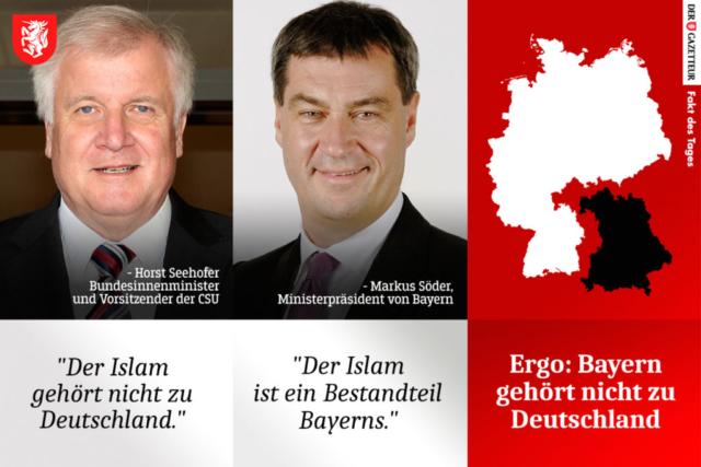 Fakt des Tages Bayern - Der Gazetteur