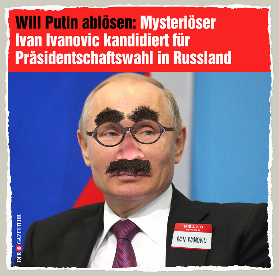 Ivan Ivanovic (nicht Putin) - Der Gazetteur