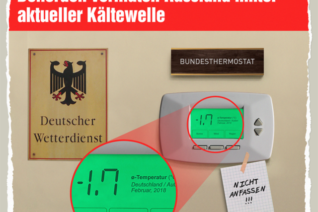 Kaeltewelle gehackt - Der Gazetteur