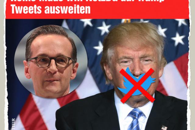 Maas, Trump und das NetzDG - Der Gazetteur