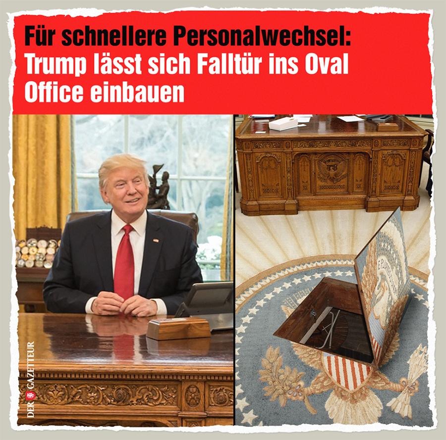 Office Falle - Der Gazetteur