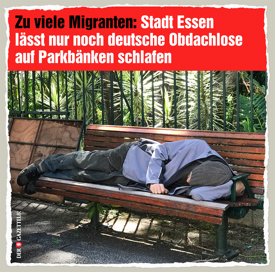 Parkbankknappheit - Der Gazetteur