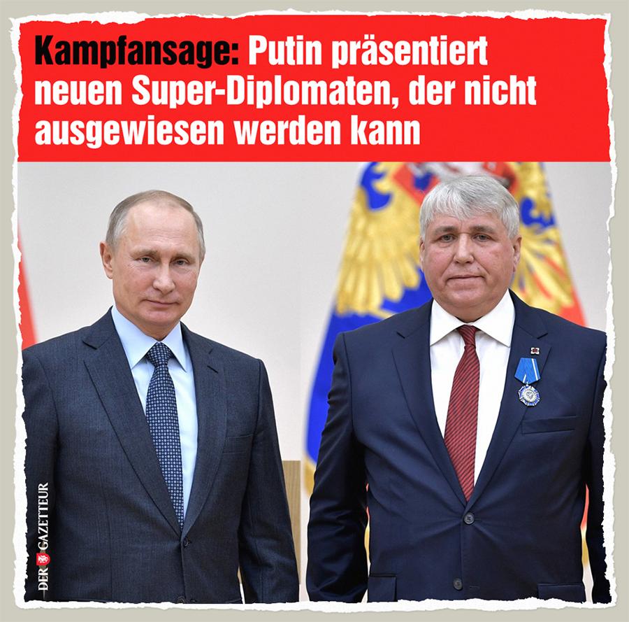 Neuer Super-Diplomat - Der Gazetteur