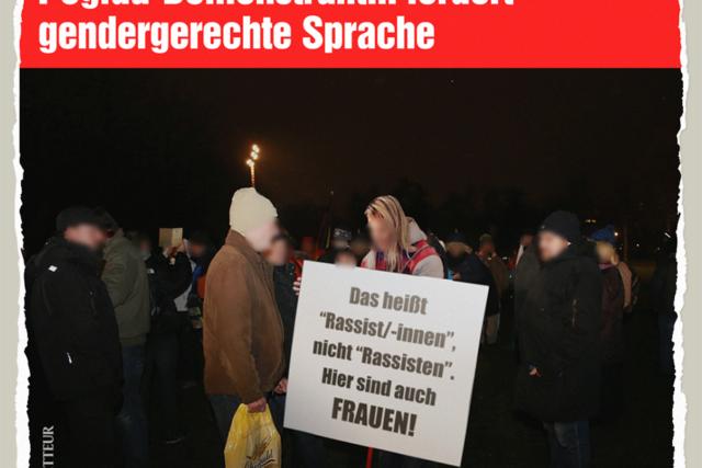 Rassistierende Frauen - Der Gazetteur