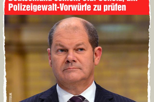 Polizeigewalt-Pruefer Scholz - Der Gazetteur
